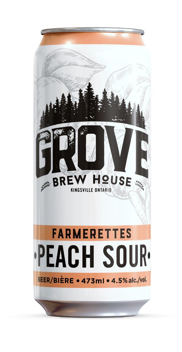 Grove - Farmerette Peach Sour