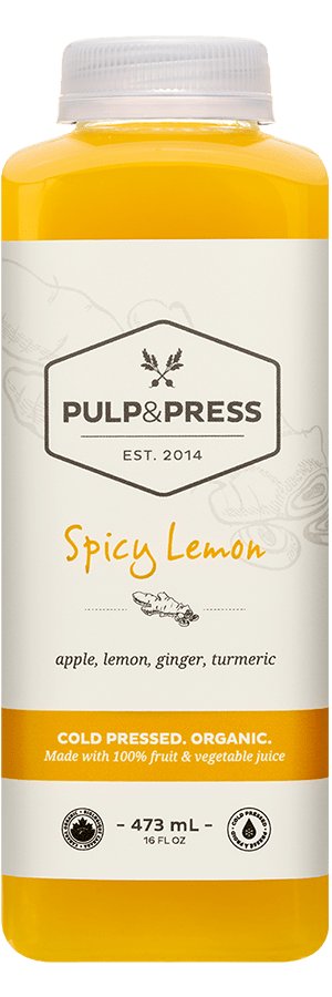 Pulp & Press - Spicy Lemon 473ml