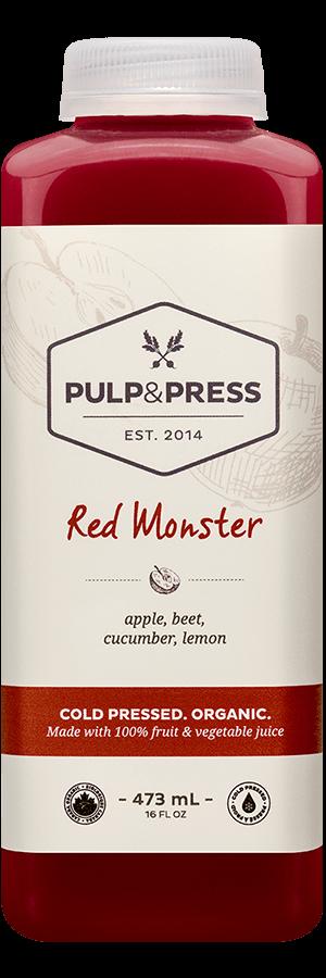 Pulp & Press - Red Monster 473ml
