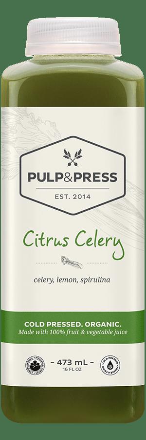 Pulp & Press - 473ml  Citrus Celery