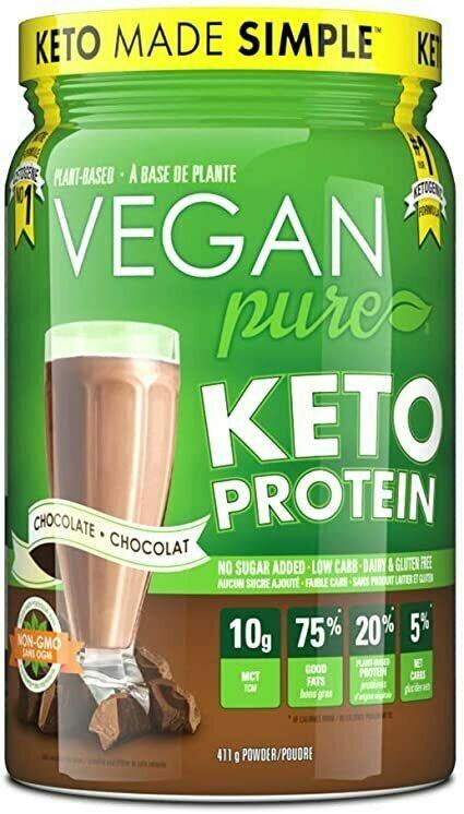 VEGAN pure - KETO Protein - CHOCOLATE (411g)