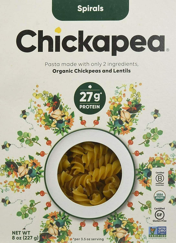 Chickapea Pasta - Spirals