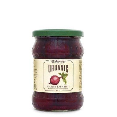 Organic Pickled Sliced Beets  (500ml)