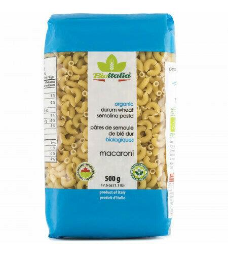 Bioitalia - Org. durum wheat Macaroni (500g)