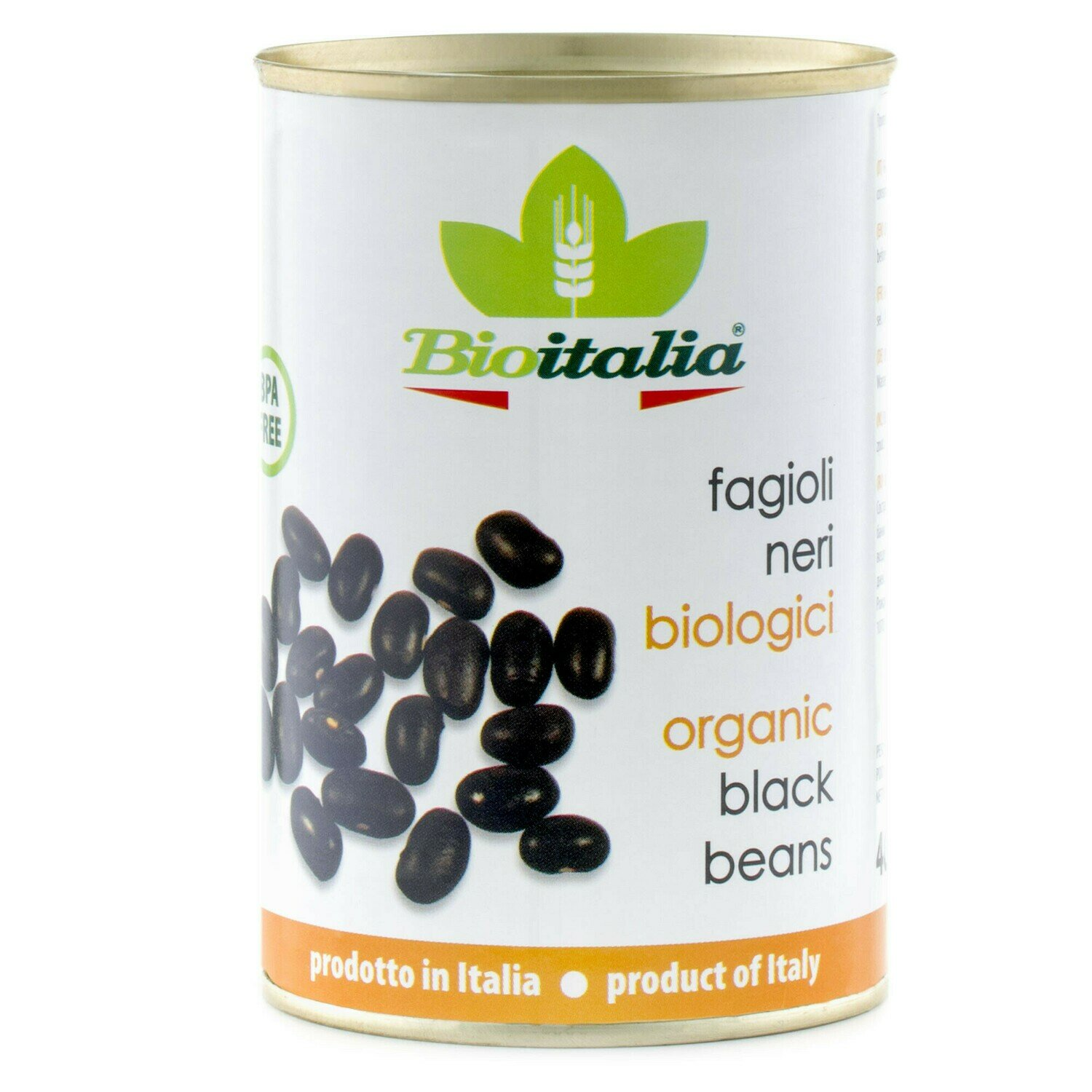 Bioitalia - Organic Black Beans  398ml