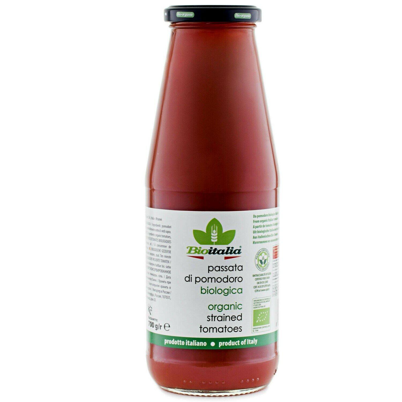 Bioitalia - Organic Strained Tomatoes