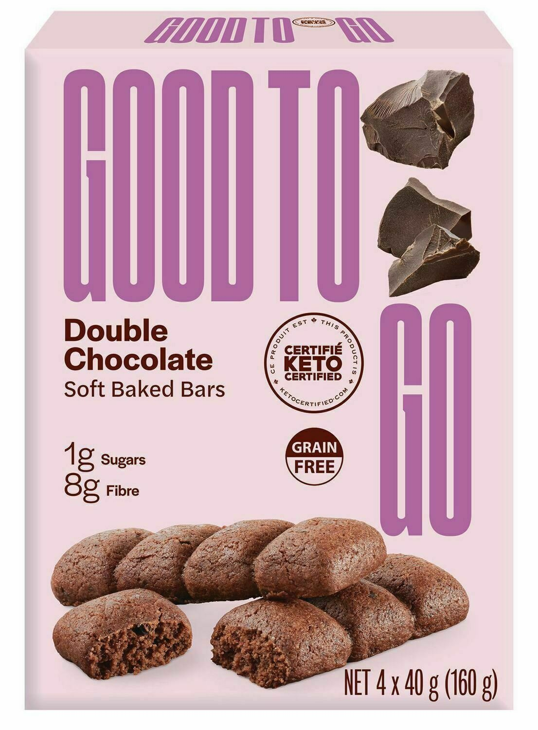 Good to Go - Double Chocolate 4-pack