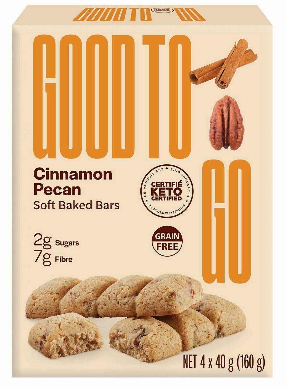 Good to Go - Cinnamon Pecan 4-pack