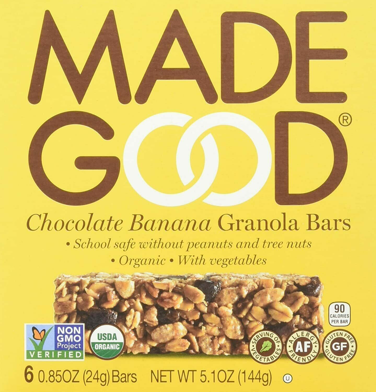 Made Good - Chocolate Banana Granola Bars 6-pack