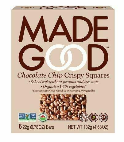 Made Good - Chocolate Chip Crispy Squares