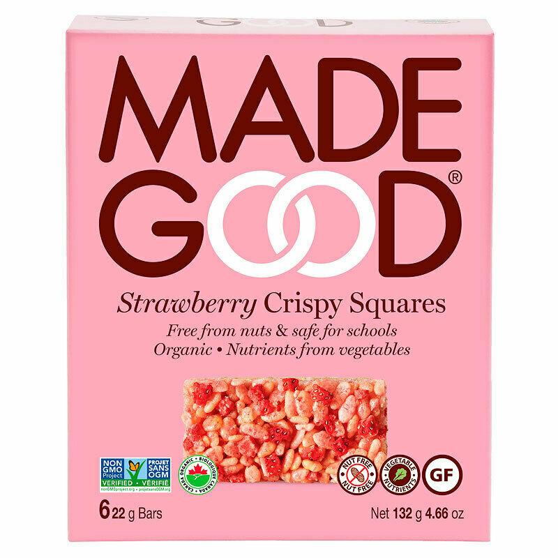 Made Good - Strawberry Crispy Squares