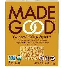 Made Good - Caramel Crispy Squares