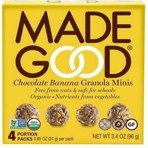 Made Good - Chocolate Banana Minis