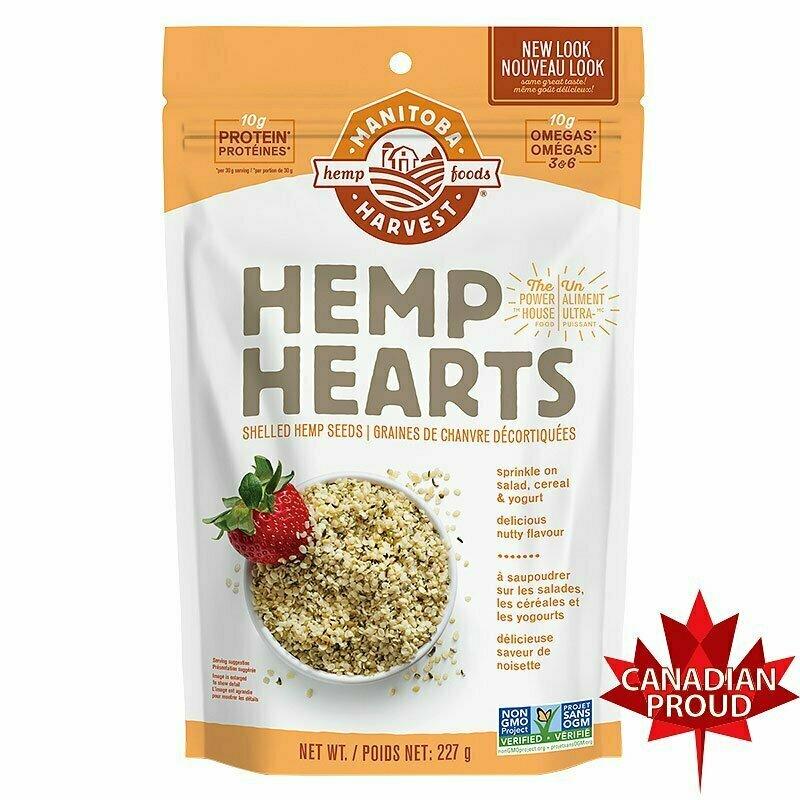 Manitoba Harvest - Shelled Hemp Hearts 227g