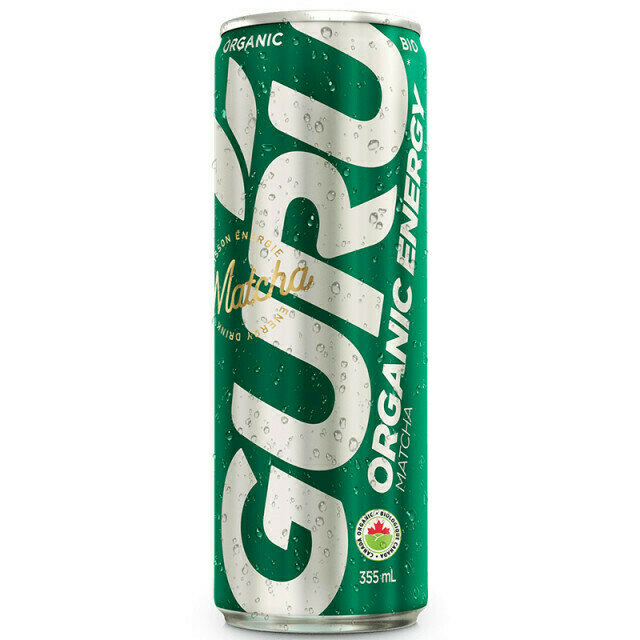 Guru - Matcha Energy Drink  250ml