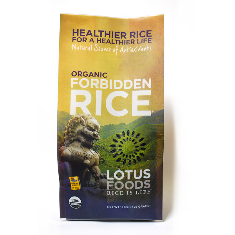 Lotus Foods - Heirloom Forbidden Rice