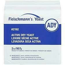Fleischmann's - Dry Active Yeast 2lb