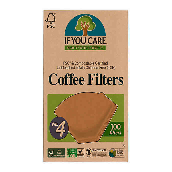 If You Care - Coffee Filters N0. 4  (100ct.)