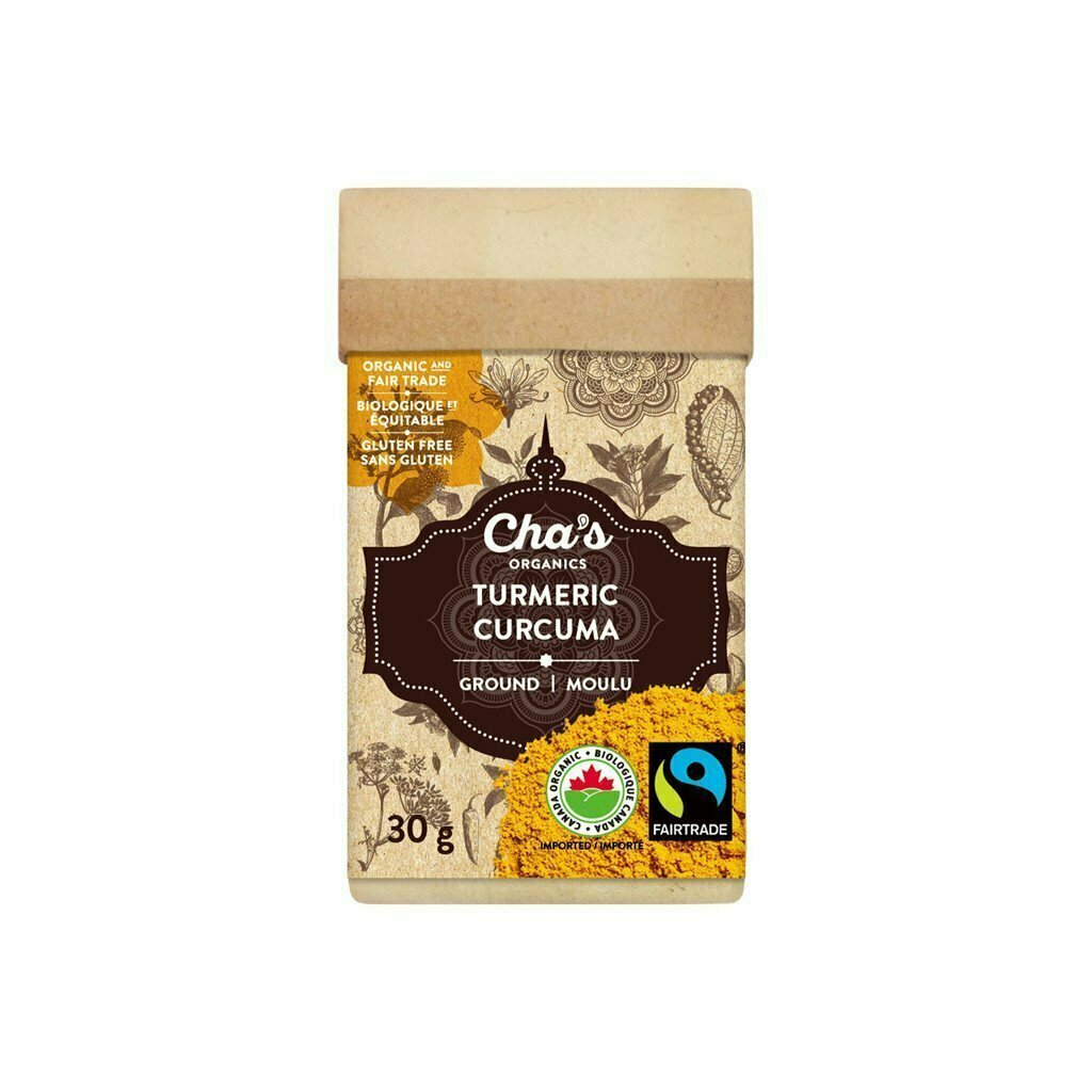 Cha's - Spice Turmeric Ground 30g