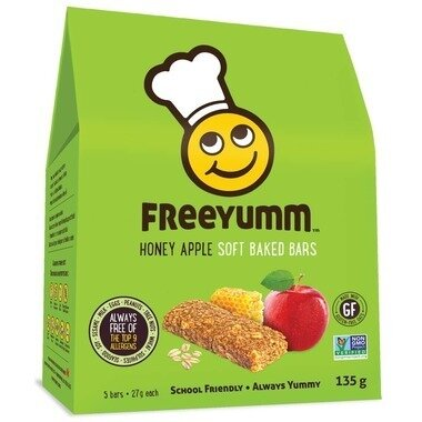 Freeyum - Honey Apple Oat Bars