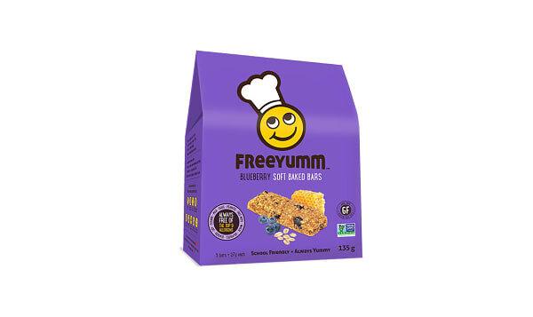 Freeyum - Blueberry Oat Bars