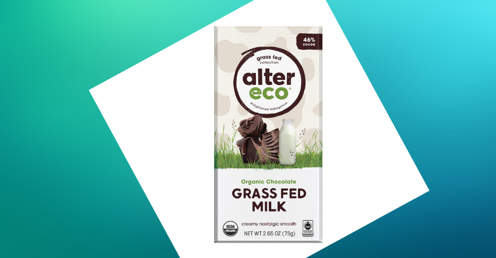 Alter Eco - Grass Fed Milk Chocolate Bar 75g