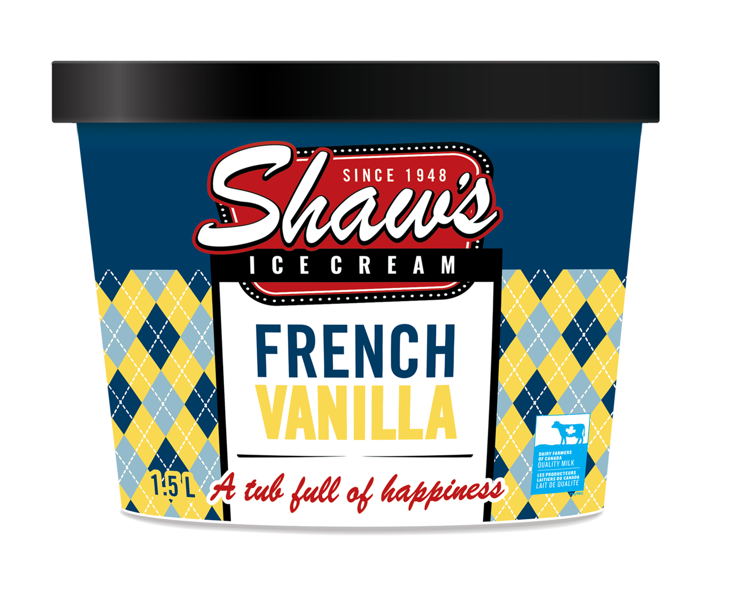 Shaw's Ice Cream - French Vanilla 1.5L