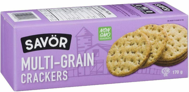 Savor- Multigrain Crackers