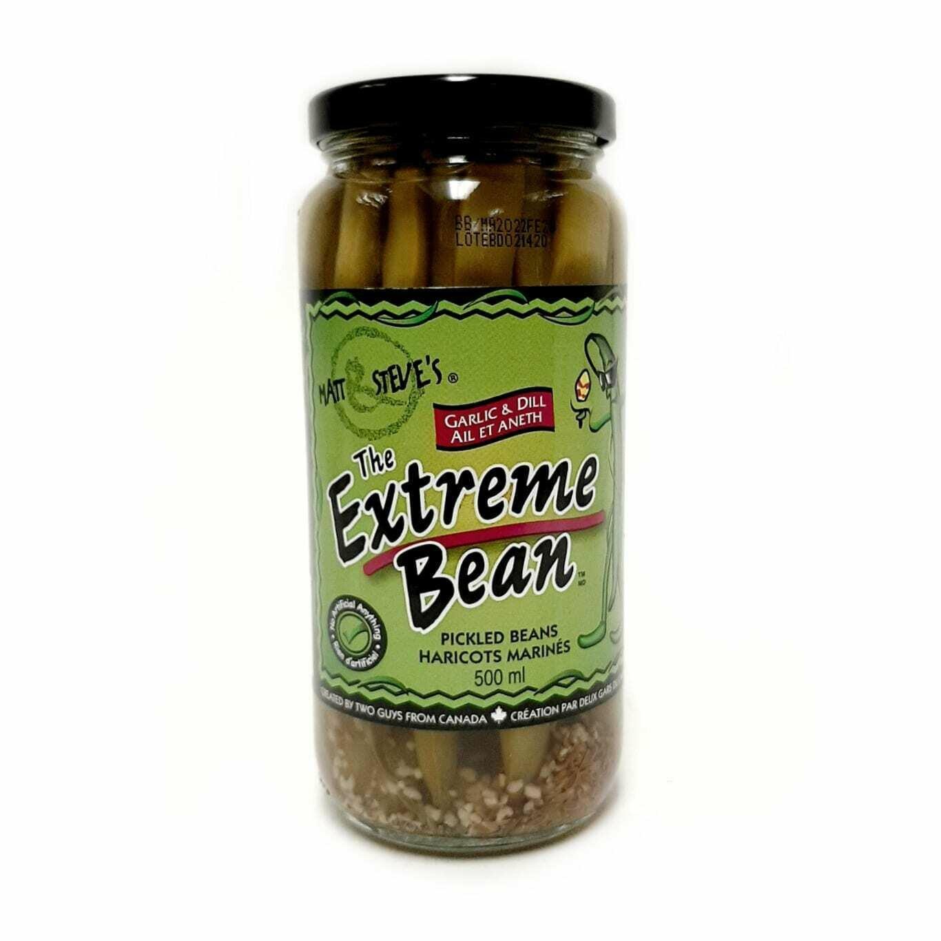 Extreme Bean - Garlic & Dill Beans 500ml