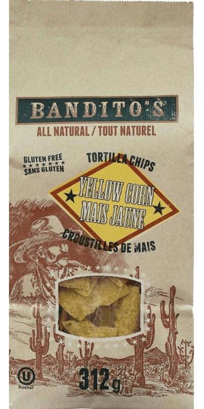 Bandito's - Yellow Corn Tortilla Chips