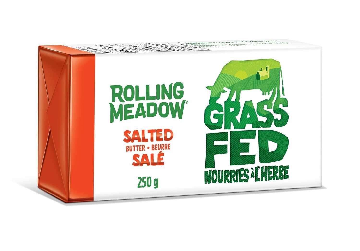 Rolling Meadow - Grass Feed Salted Butter 250g