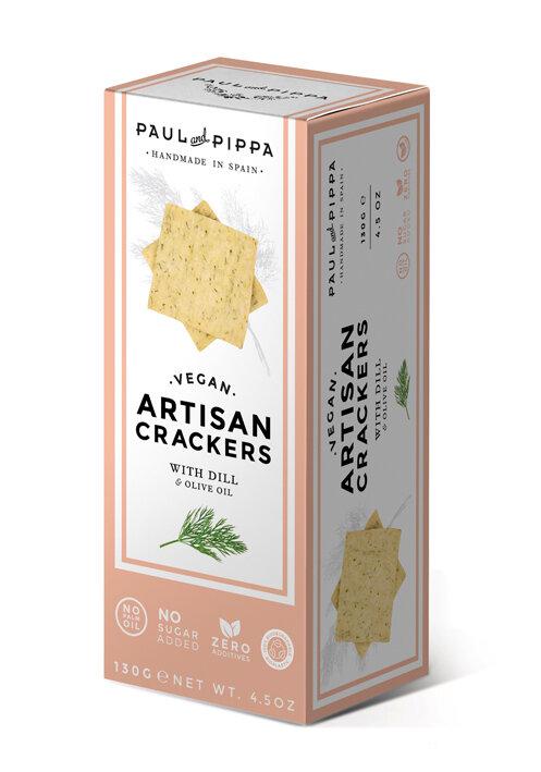 Paul & Pippa - Vegan Crackers w/Dill
