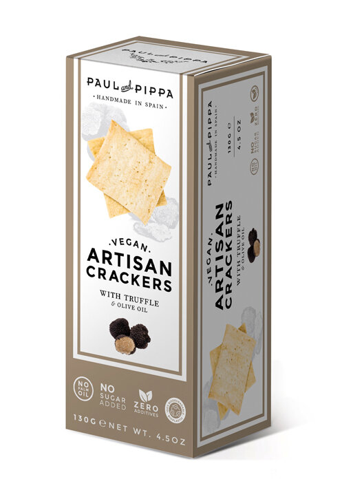 Paul & Pippa - Vegam Crackers Truffle Flavoured