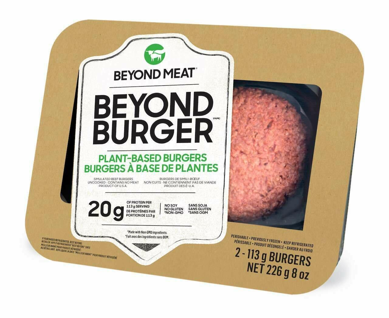 Beyond Meat - Vegan Burgers