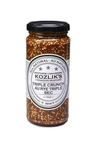 Kozlik's - Triple Crunch Mustard