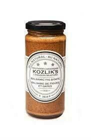 Kozlik's - Balsamic Fig & Date Mustard