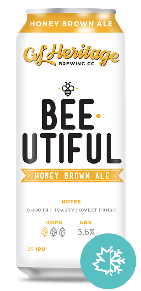 GL Heritage - Bee utiful Honey Brown Lager