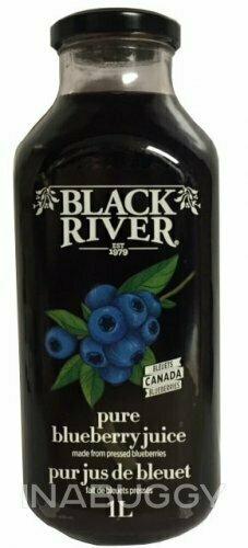Black River - Blueberry Juice CASE