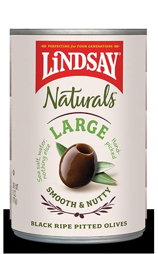 Lindsay  Naturals - Black Pitted Olives