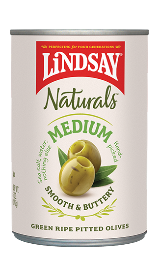 Lindsay  Naturals - Green Pitted Olives