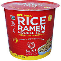 Lotus Foods - Red Miso Noodle Soup