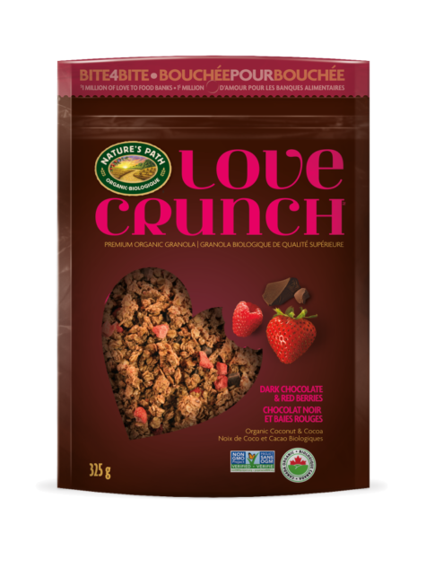 Love Crunch - 325g Dark Chocolate Red Berry Granola