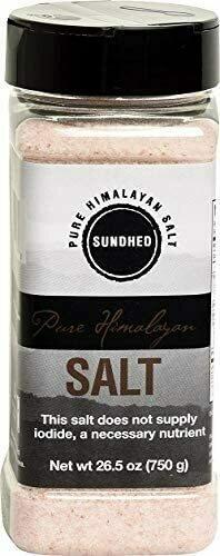 Sundhed - Pure Pink Himalayan Salt -  Fine grain 750g
