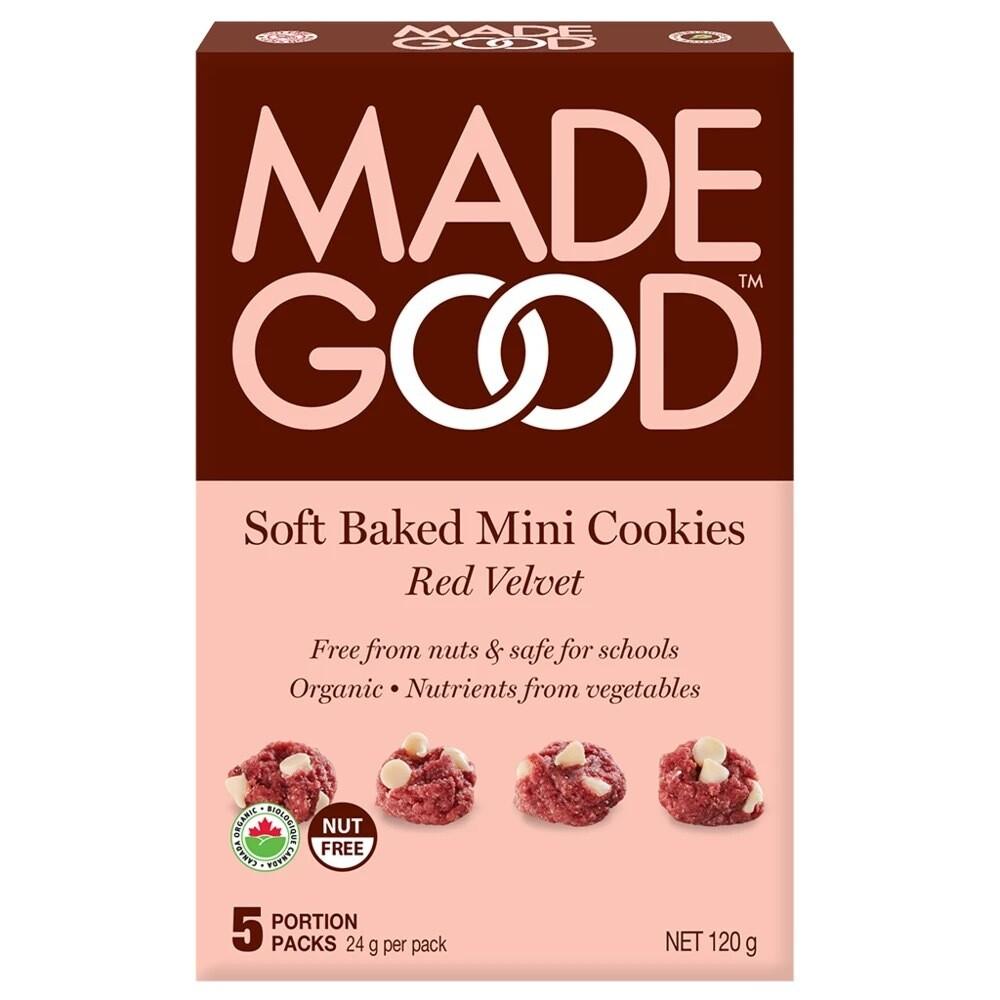 Made Good - Soft Baked Mini Cookies - Red Velvet