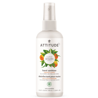 Attitude - Hand Sanitizer Orange Leaves  100ml