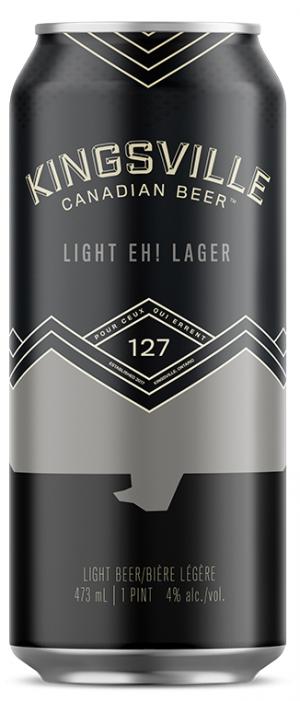 Kingsville Brewery - Light Eh! Lager