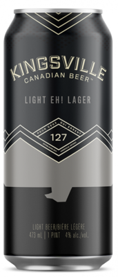 Kingsville Brewery - Light Eh! Lager
