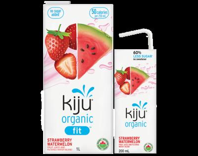 Kiju - Org. Strawberry Watermelon 1ltr