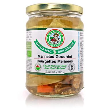 Garden Organic's - Marinated Zucchini (580g)