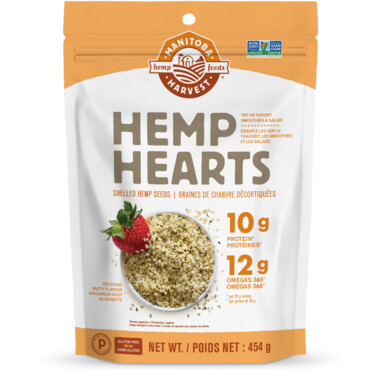 Manitoba Harvest - Organic Hemp Hearts 454g